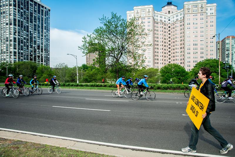 Bike the Drive, 2013