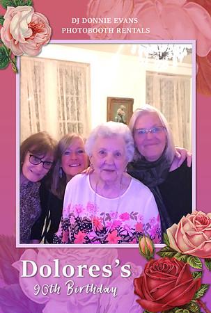 Dolores's 90th Birthday