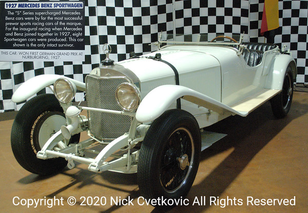 Believe it our not department, this is the winner of inaugural(1927) German Grand Prix at the Nürburgring