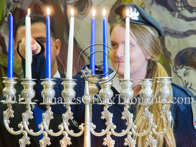 20131202 Sixth Chanukah Candle Lighting in the Knesset