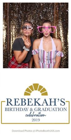 Rebekah's Grad Party & Birthday