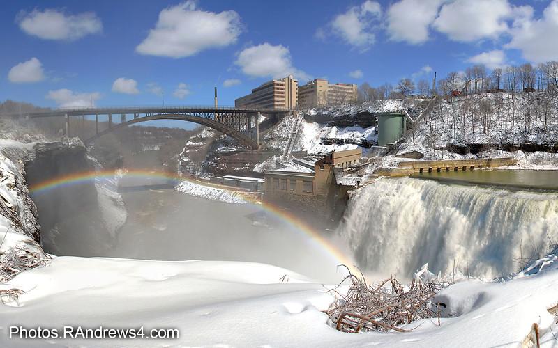Lower Falls Rainbow and Driving Park Bridge
