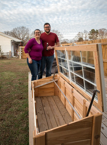 Jesse and Holly with Cold frame.jpg