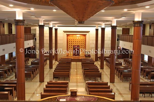 "RUSSIA, Moscow.  Moscow Jewish Community Center (MJCC), aka, Beit Chabad ""Maryina Roshcha"". (8.2011)"