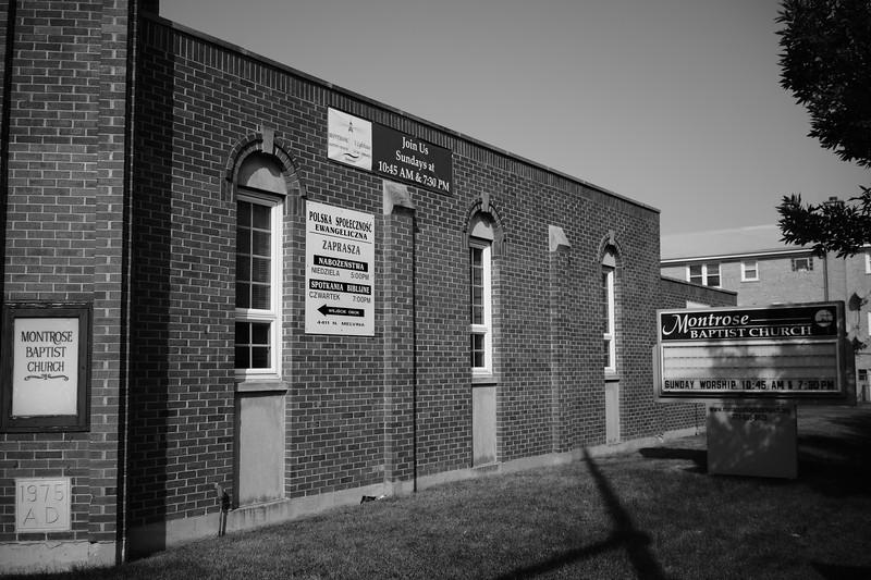 Montrose Baptist Church and Polska