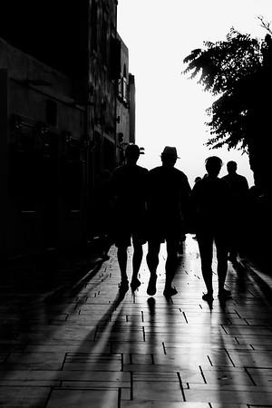 Shadows of Oia