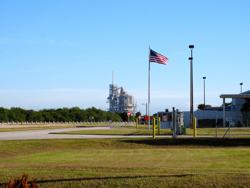 Atlantis on Launch Pad 39A. Photo by Jim Lovett
