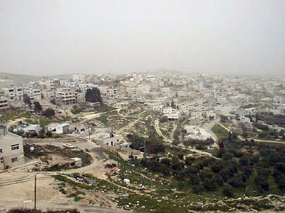 Har Homa Settlement and the Old City