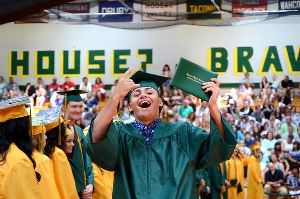 Taconic High School graduation 061117