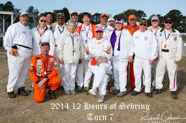 2014 Marshals & People of 12 HRS of Sebring