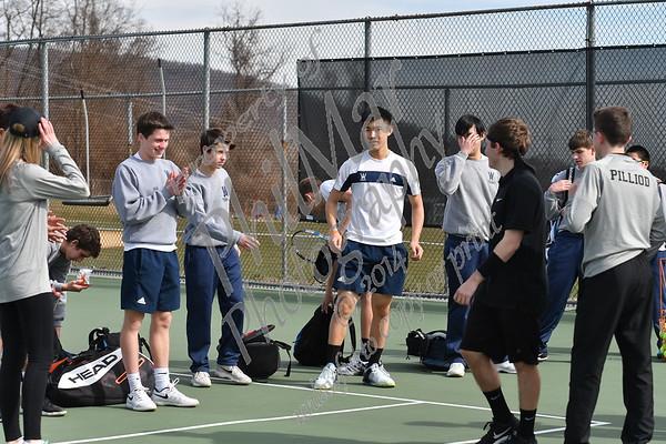Wyomissing vs Berks Catholic Boys High School Tennis 2017 - 2018