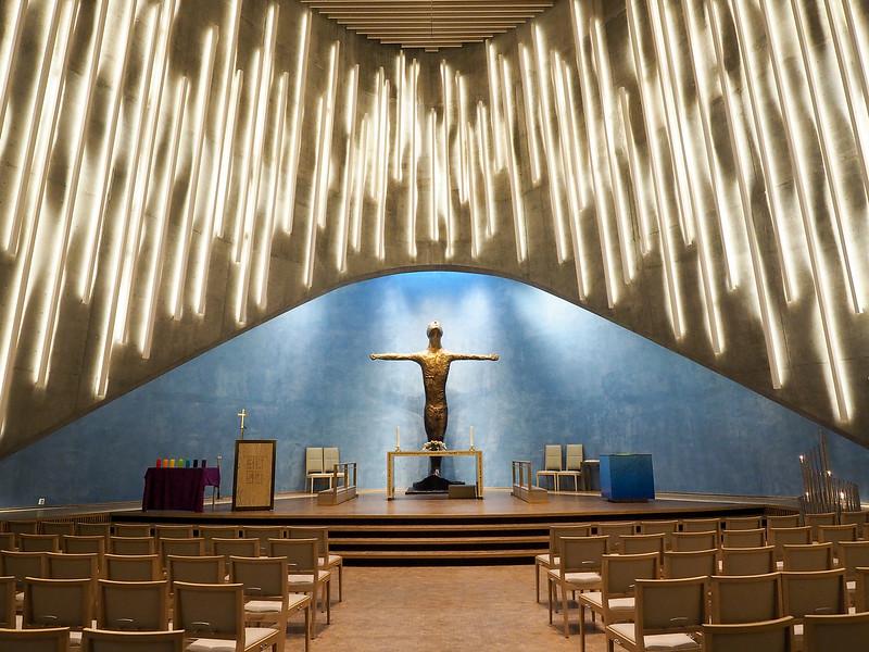Inside the Northern Lights Church