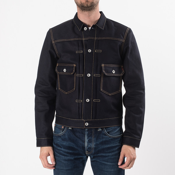 Indigo-Indigo 18oz Raw Selvedge Denim Type ll Jacket-27108.jpg