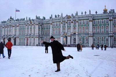 New Year's in St. Petersburg