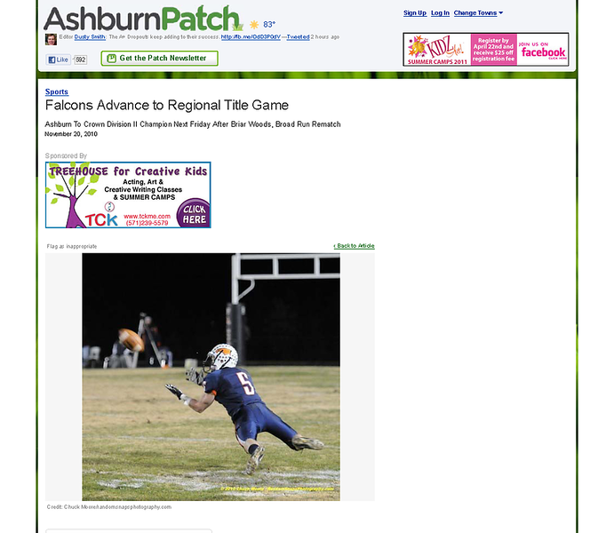 2010-11-20 -- Falcons Advance to Regional Title Game - Ashburn, VA Patch.png