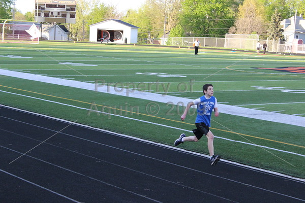 6-8th grade track at freeport . 5.4.16