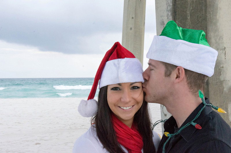 Beach Christmas Photos