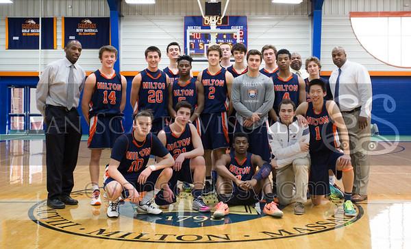 Mustangs Varsity Boys' Basketball | General Season Photos