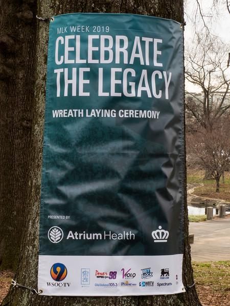 2019 Atrium Health Martin Luther King Jr. Memorial Service @ Marshall Park 1-15-19 by Ed Chavis