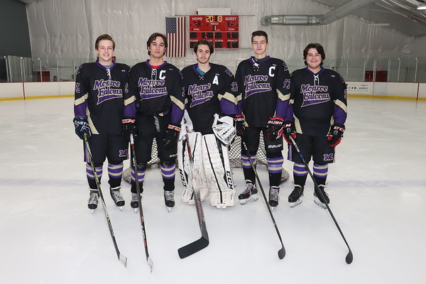Jan 31, 2019 MTHS Ice Hockey Team Individual Mug Shots, Sr Shots, Team pics etc.