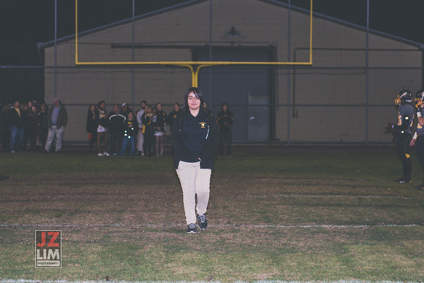 AHS Football Senior Night 2015