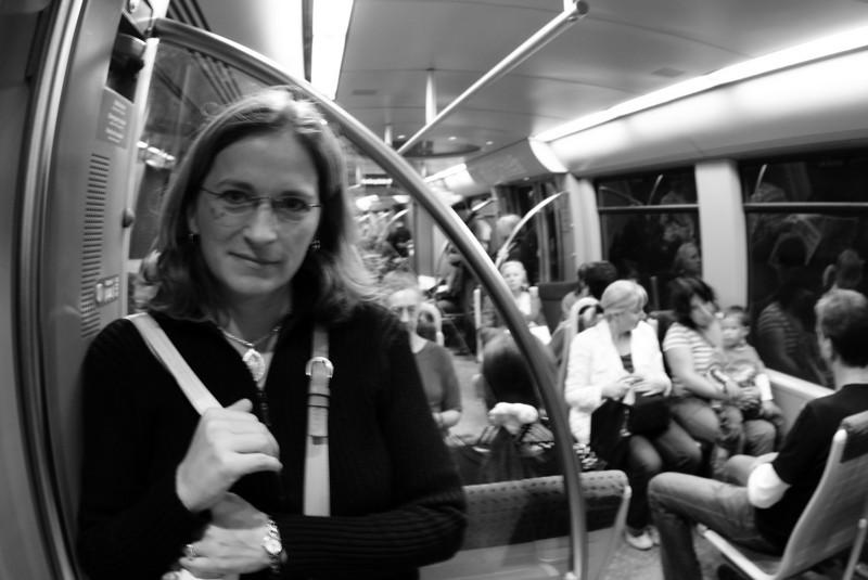 The Munich subway.