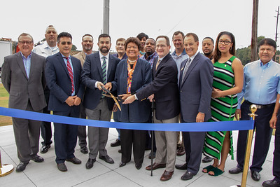 Fulton Industrial Blvd streetscape improvements ribbon cutting - 20180927