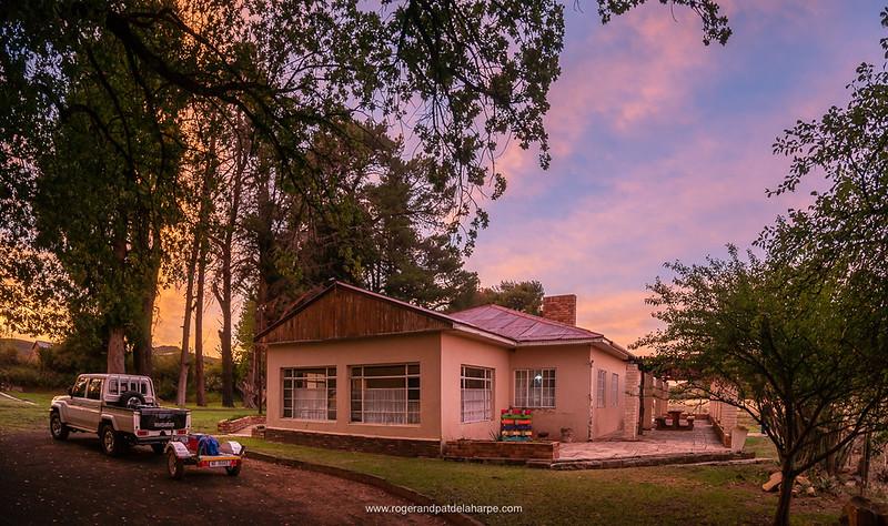 Dawn at Asemskep Guest Farm. Near Middelburg. Eastern Cape. South Africa