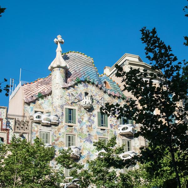 Casa Batllo, famous architecture