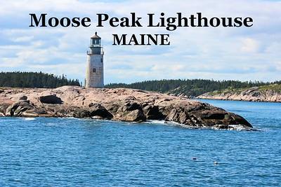 Moose Peak Lighthouse, Maine