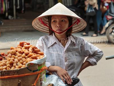 Hanoi Street Vendors and Sidewalk Restaurants
