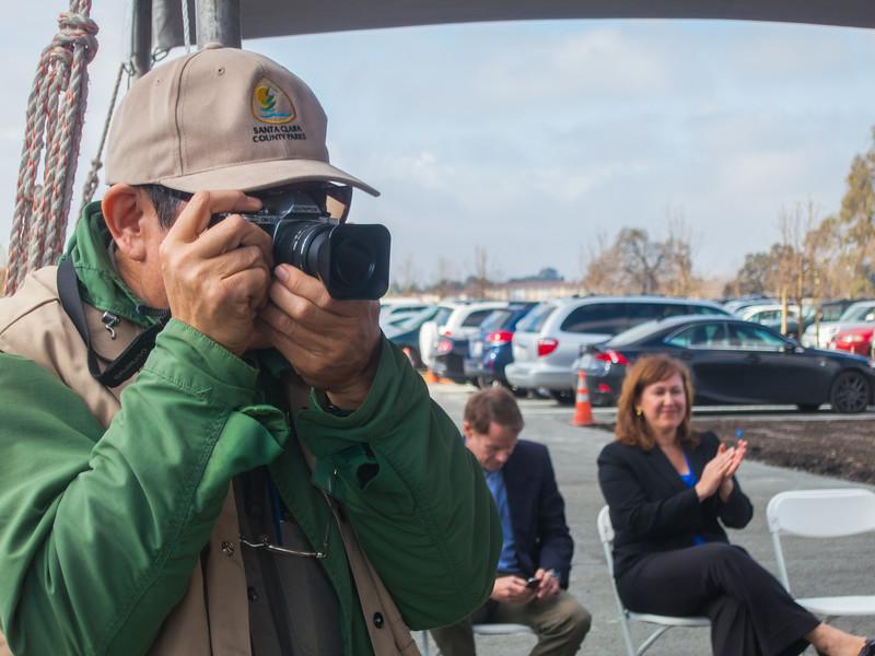 Ron Horii, unofficial park photographer