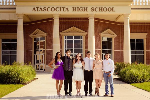 2013 AHS Homecoming: Alyssa, Gabe & Friends