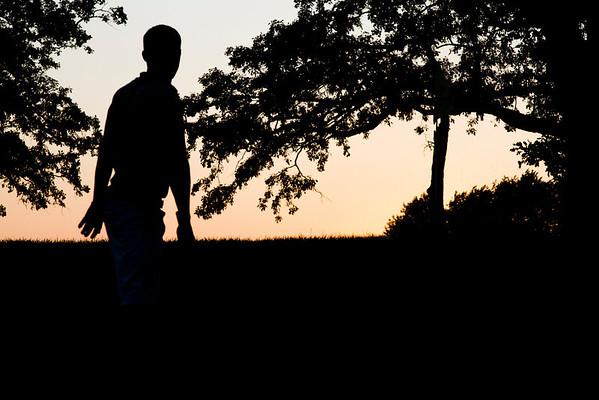Lake Lawn Sunset
