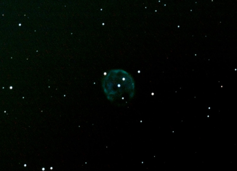 Caldwell 56 - NGC246 - Skull Nebula in Cetus - 9/10/2012 (Processed cropped stack)