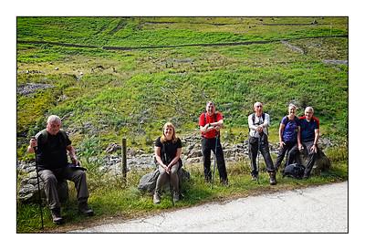 003 - Patterdale To Sheffield Pike Walk, Cumbria, UK - 2021.