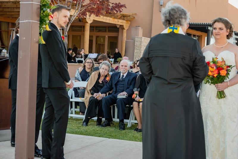Sandia Hotel Casino New Mexico October Wedding Ceremony C&C-86.jpg