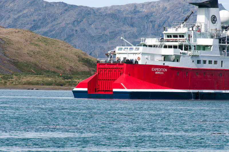 M/S Expedition in Grytviken