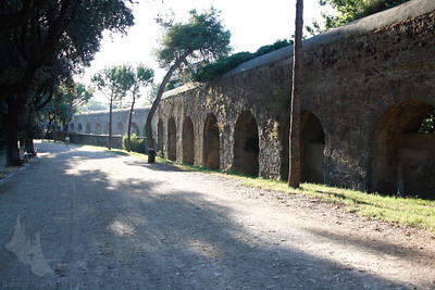 Aqueduct in the Villa Dora Pamphili