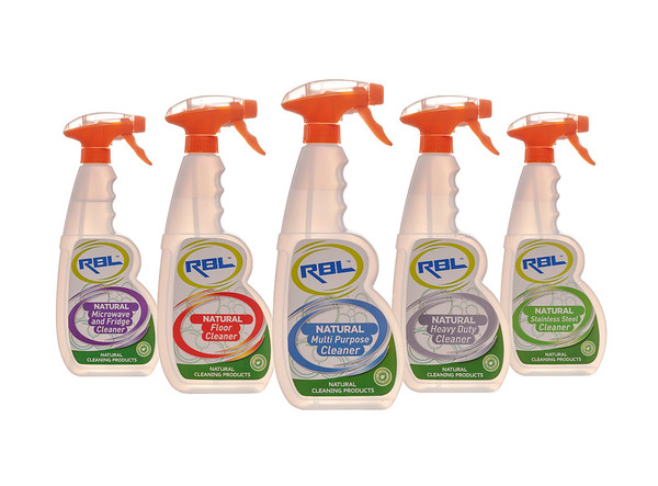 RBL Natural Cleaning products