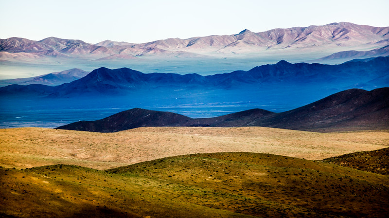 Steppe grasslands and mountains, Mongolia Altanbulag
