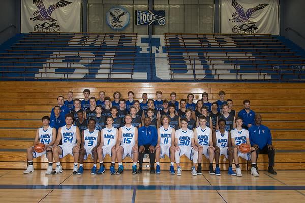 Falcons Boys Basketball 2017-2018