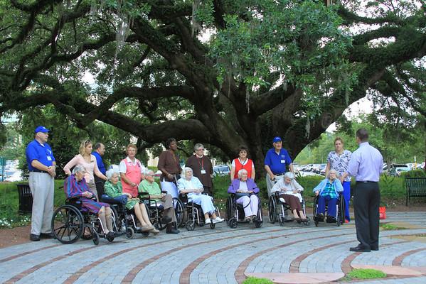 Meditation Garden - Bishop Gadsden Tour