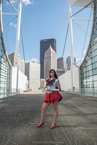 Sailor Mars - Caroline