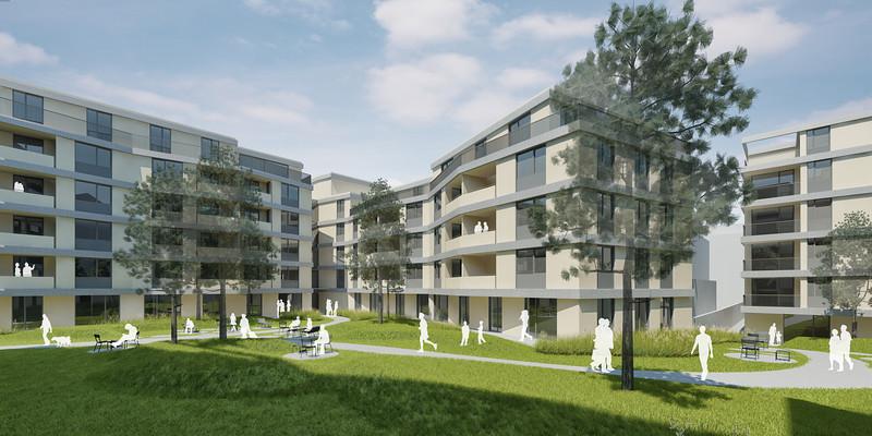 Wohnbebauung Schönbrunnerstrasse-Arndtstrasse