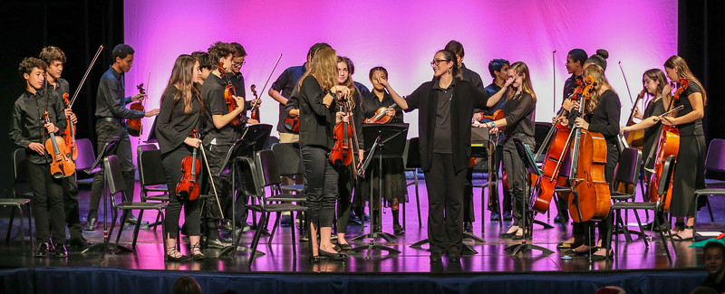 2018 Middle and Upper School Winter Orchestra Concert