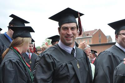 2011 Benedictine Graduation~after ceremony