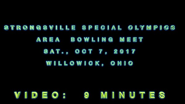Strongsville Special Olympics - Bowling