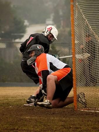 Westwood vs. Bowie Varsity  Lacrosse 19 Feb 05