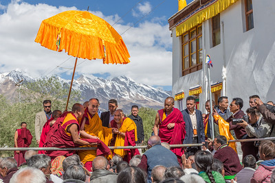 Dalai Lama in Padum